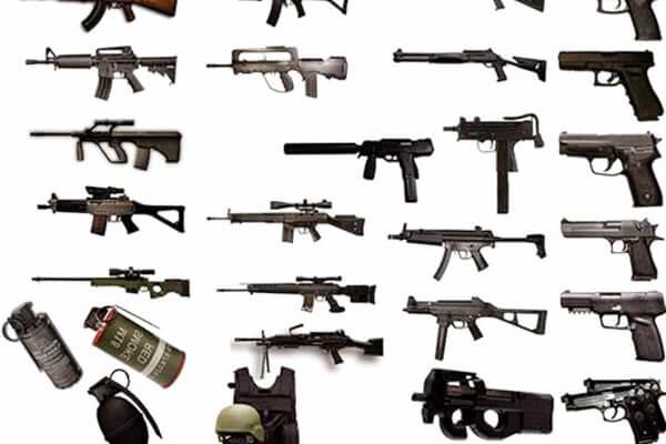 armas counter strike 1.6