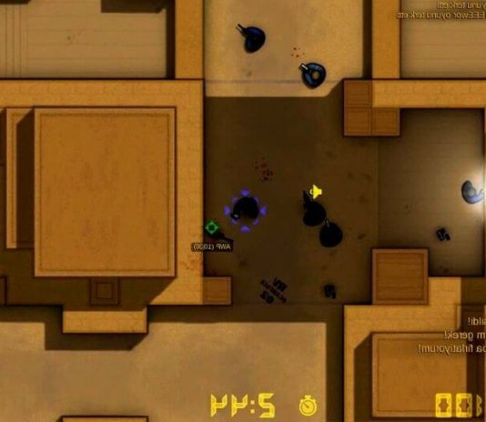 Versión 2D de counter strike