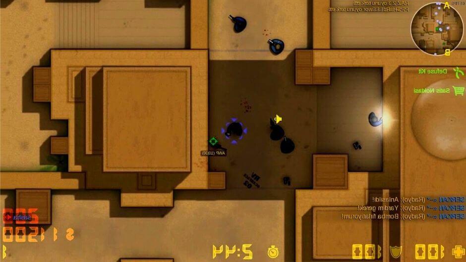 Versión 2D de counter strike