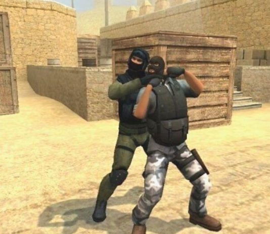 Versión 1.8 de counter strike